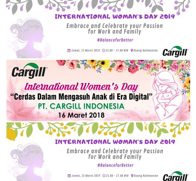 Emcorpstudio Jasa Pembuatan Aplikasi Android Website iOS Dekstop Design WOMEN DAY (Custom)